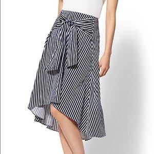 New York and Co. tie waist skirt! Latin vibes!